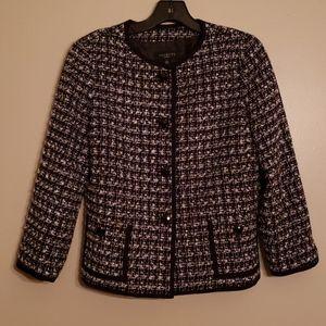 Talbots Beautiful Classic Channel Style Jacket